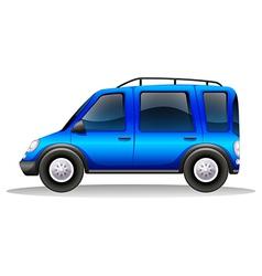 A tinted family car vector