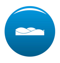 equalizer sound tune icon blue vector image vector image