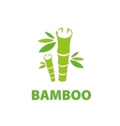 logo bamboo vector image vector image