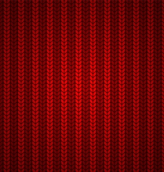 Red Wool Texture vector image vector image