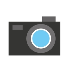 Camera photographic isolated icon design vector