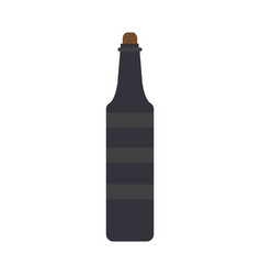 bottle of oil vector image vector image