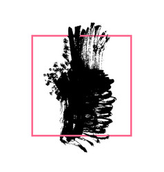 grunge brushed background vector image vector image