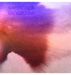 Abstract multicolored watercolor background for vector