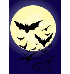 bats vector image