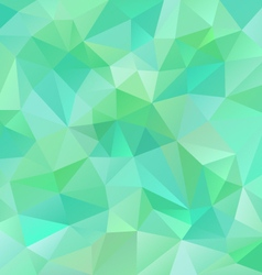 Fresh spring green polygon triangular pattern vector