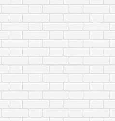 Seamless texture of white brick wall for your vector