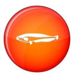 Atlantic mackerel scomber scombrus icon vector