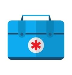 Car medical kit vector