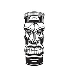 Hawiian totem Tiki vector image