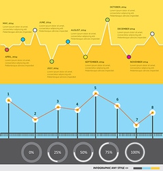 Infographic 59 vector image
