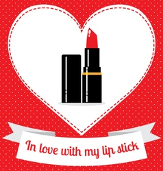 Lip stick vector