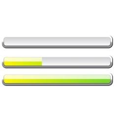 Progress bar vector