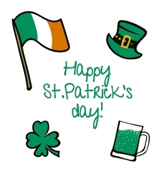 StPatricks Day collection vector image