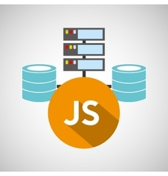 Js language data base storage vector
