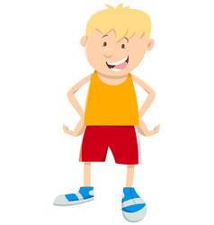 Boy cartoon vector