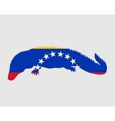 Caiman venezuela vector