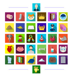 Industrial history medicine and other web icon vector