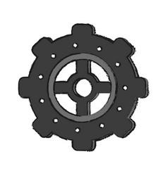 pinion cartoon draw vector image vector image