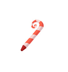 Striped party horn birthday christmas decoration vector