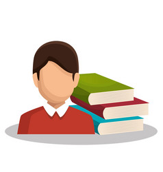 Study books design vector