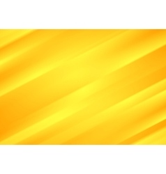 Bright yellow blurred stripes abstract background vector