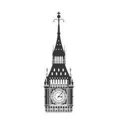 big ben icon United kingdom design vector image vector image