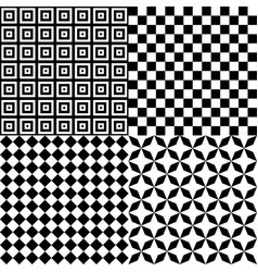 Black and white hypnotic psychedelic background vector