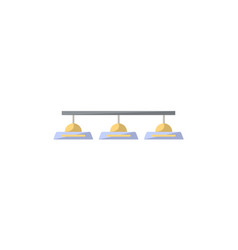 Class lamp isolated icon in flat style vector