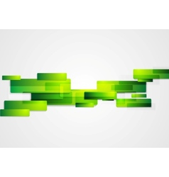 Green abstract hi-tech motion background vector