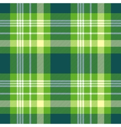 Seamless plaid pattern in bright green yellow and vector
