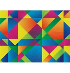 Abstract mosaic background for design vector image