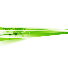 Abstract green white tech corporate background vector