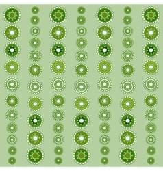 Abstract seamless green pattern season holidays vector