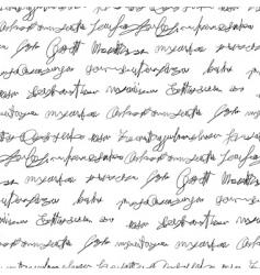 Fake writing texture vector