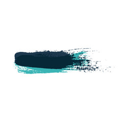 grunge brush strokes colorful brush vector image vector image