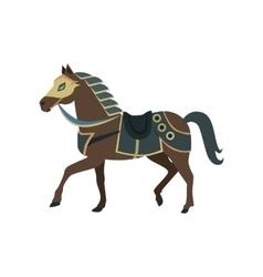 Knight s war horse vector