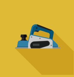 planer flat icon vector image