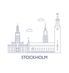Stockholm vector