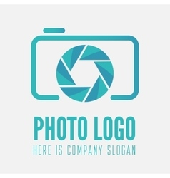 Logo label sticker and logotype element for vector