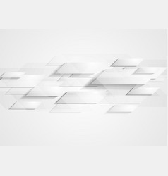 Abstract grey hi-tech background vector