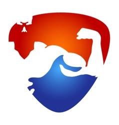 Gym symbol vector