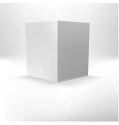 Open folder template standing vector image vector image