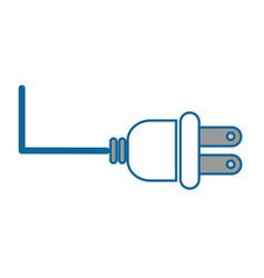 isolated energy plug vector image