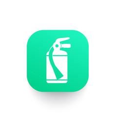 Fire extinguisher icon pictogram vector
