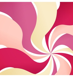 Abstract background with colorful waves vector