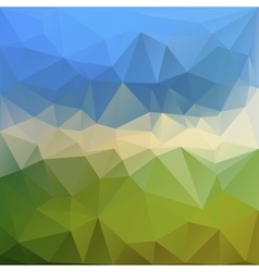 Abstract triangle background in graphics vector