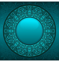circle frame vector image vector image