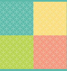 Colored abstract background seamless patter vector