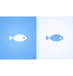 Sign of Fish vector image vector image